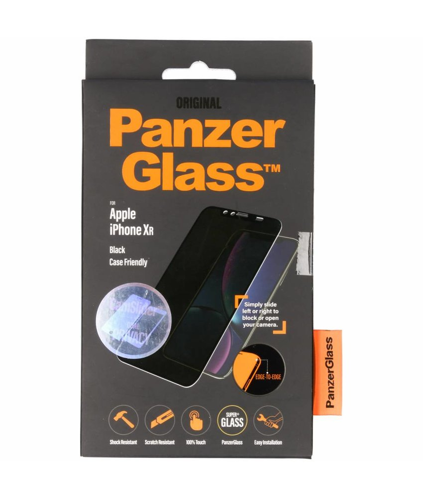 PanzerGlass CamSlider™ Privacy Screenprotector iPhone 11 / Xr