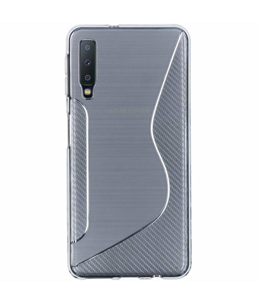 S-line Backcover Samsung Galaxy A7 (2018)