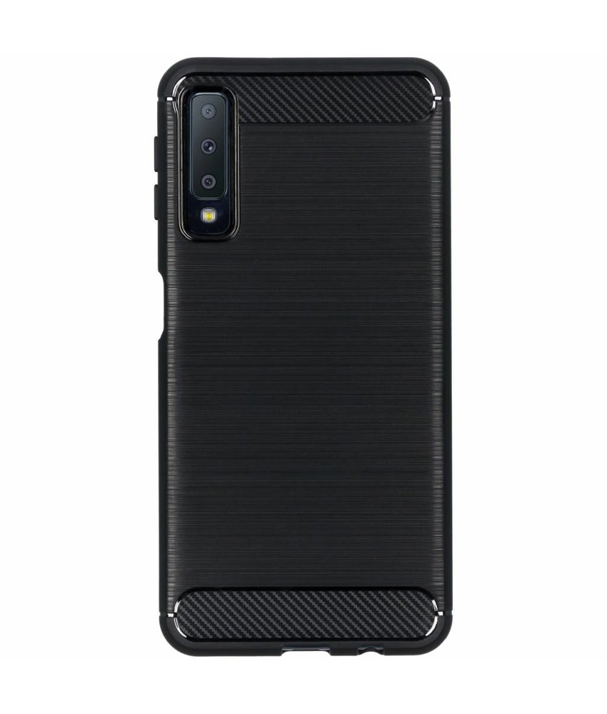 Brushed Backcover Samsung Galaxy A7 (2018)