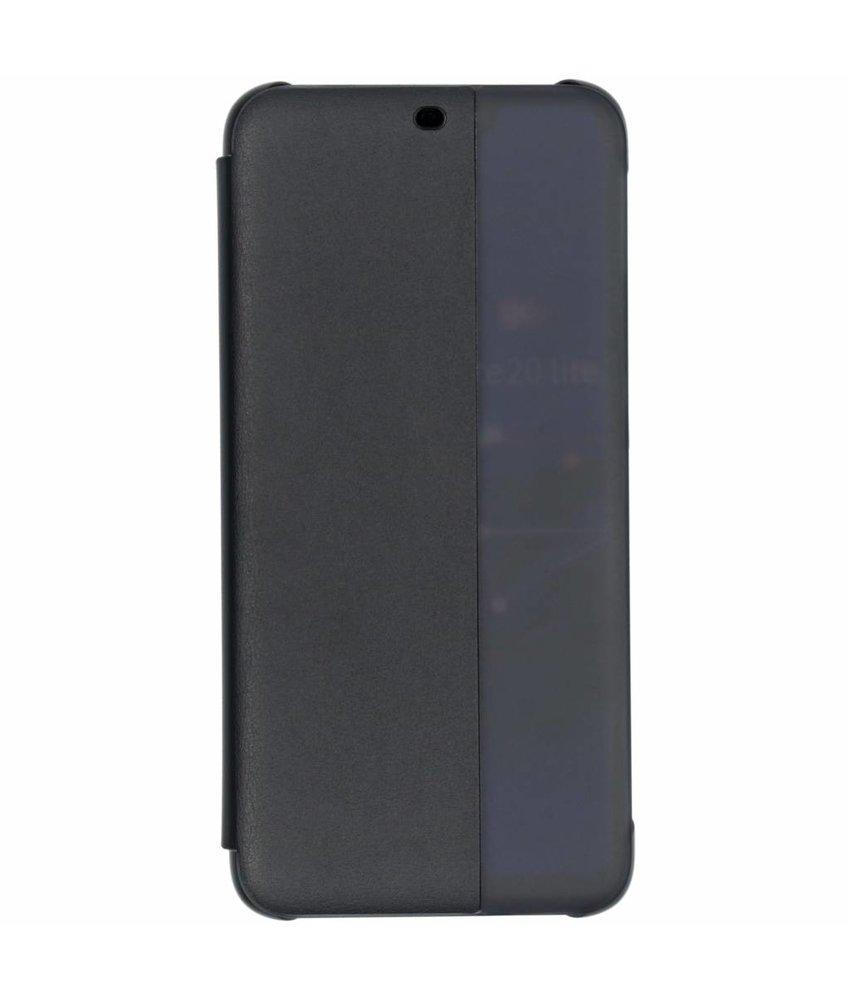 Huawei Zwart Smart View Flip Cover Mate 20 Lite