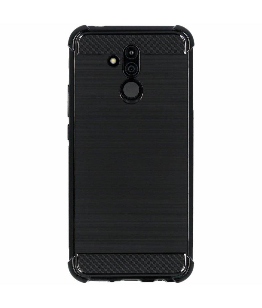 Zwart xtreme siliconen hoesje Huawei Mate 20 Lite