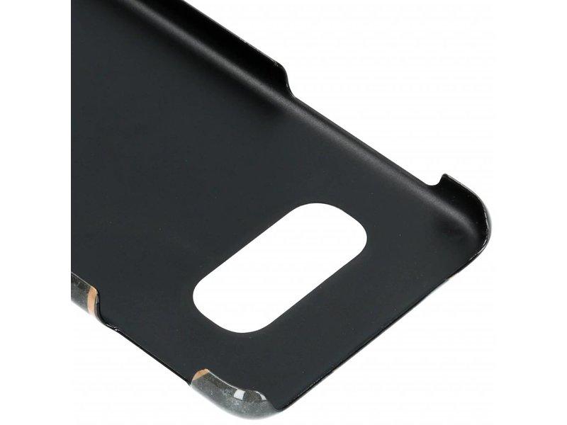 Samsung Galaxy S10E hoesje - Selencia Black Graphic Passion