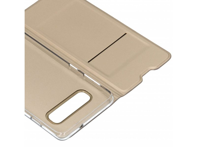 Samsung Galaxy S10 hoesje - Gouden luxe stand booktype