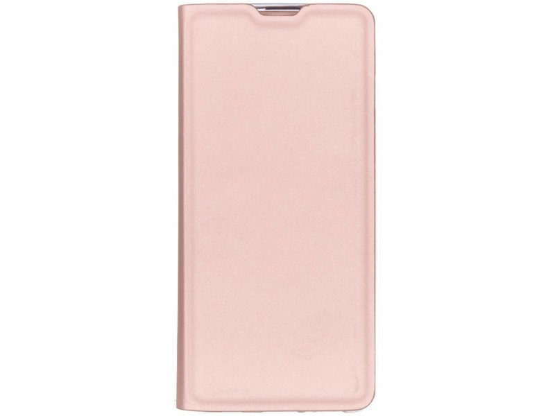 Samsung Galaxy S10 hoesje - Rosé Gouden luxe stand