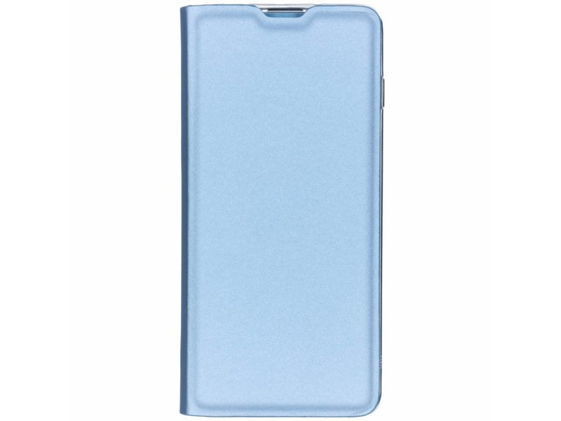 Samsung Galaxy S10 hoesje - Lichtblauwe luxe stand booktype