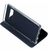 Luxe Stand Booktype voor Samsung Galaxy S10 - Donkerblauw
