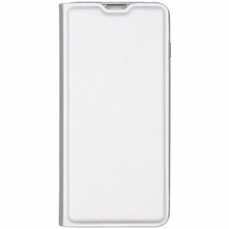 Zilver luxe stand booktype hoes Samsung Galaxy S10