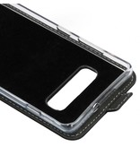 Accezz Flipcase voor Samsung Galaxy S10 Plus - Zwart