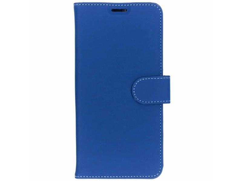 Samsung Galaxy S10 Plus hoesje - Accezz Blauwe Wallet TPU