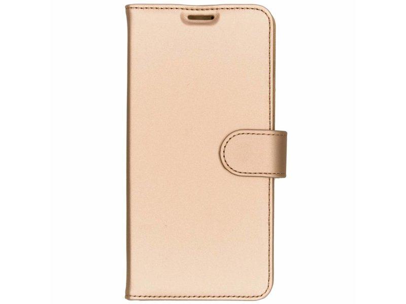 Samsung Galaxy S10 Plus hoesje - Accezz Gouden Wallet TPU