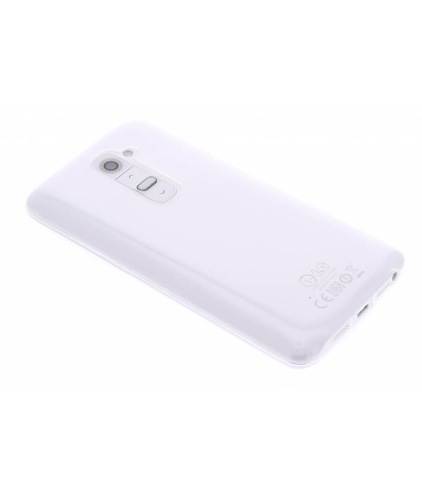 Ultra Thin Transparant Backcover LG G2