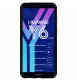 S-line Backcover voor Huawei Y6 (2018) - Zwart