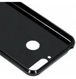 Huawei Y6 (2018) hoesje - Zwart s-line TPU hoesje