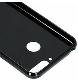Zwart s-line TPU hoesje voor de Huawei Y6 (2018)