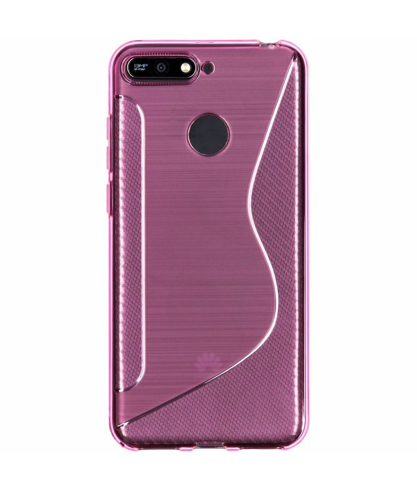 S-line Backcover Huawei Y6 (2018)