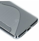 S-line Backcover voor Huawei Y6 (2018) - Transparant