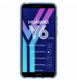 S-line Backcover voor Huawei Y6 (2018) - Blauw
