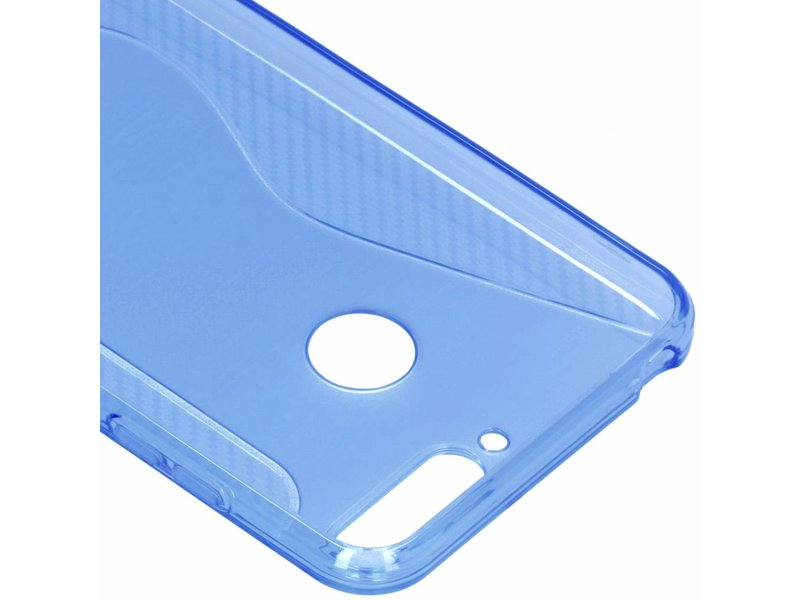 Huawei Y6 (2018) hoesje - S-line Backcover voor Huawei