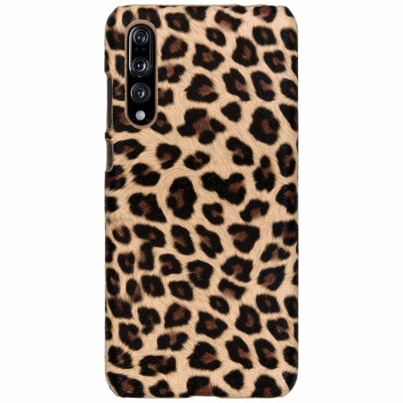 Bruin luipaard design hardcase hoesje Huawei P20 Pro