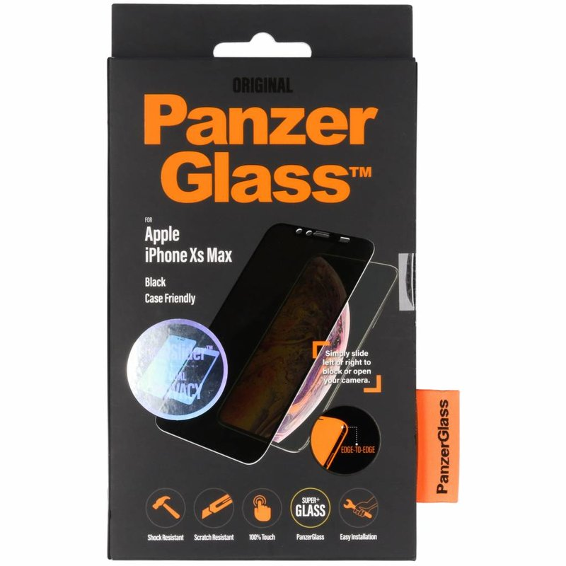 PanzerGlass CamSlider™ Privacy Screenprotector iPhone Xs Max