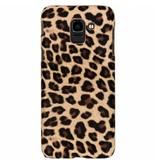 Luipaard Design Backcover voor Samsung Galaxy J6 - Bruin