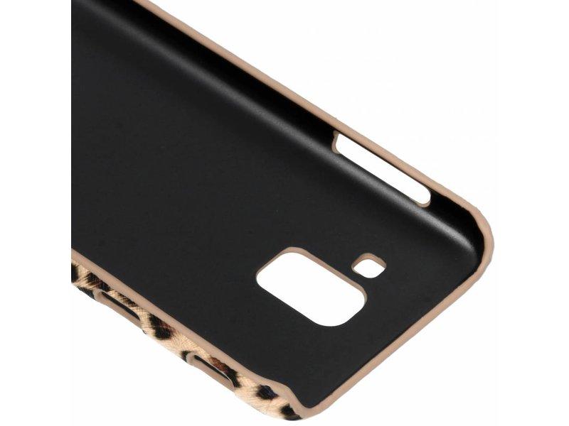 Samsung Galaxy J6 hoesje - Luipaard Design Backcover voor