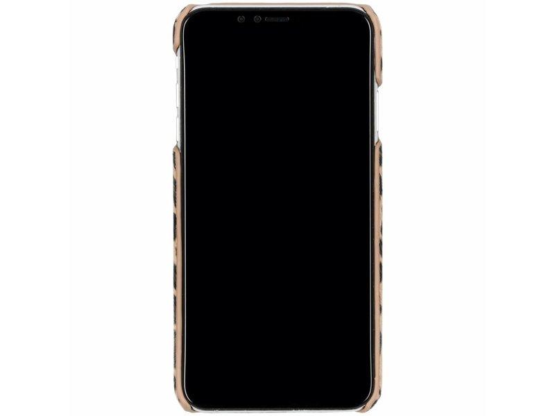iPhone Xs Max hoesje - Luipaard Design Backcover voor