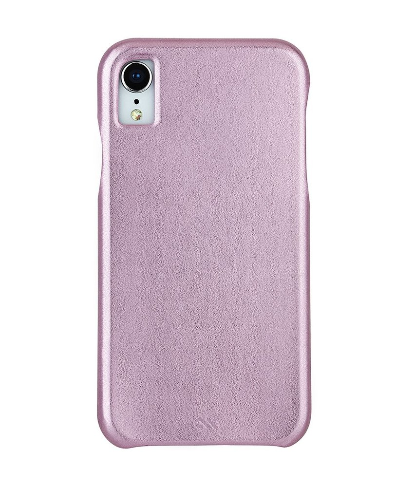 Case-Mate Roze Barely There Leather Case iPhone Xr