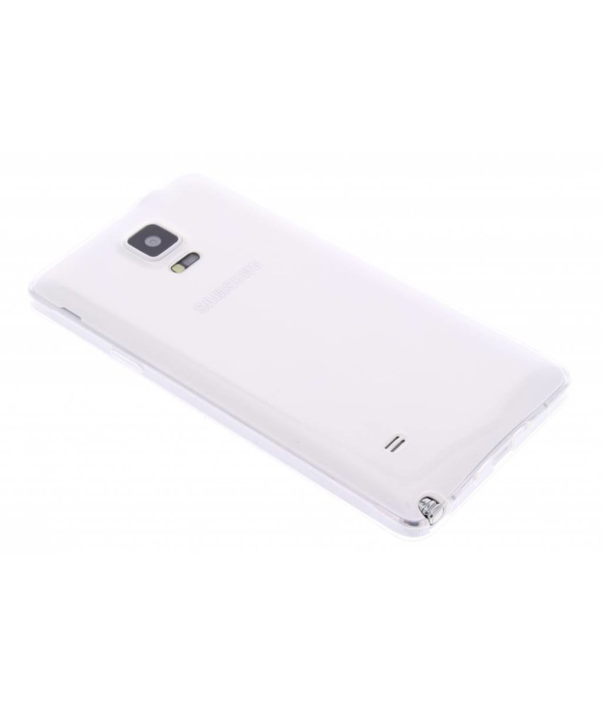 Ultra Thin Transparant Backcover Samsung Galaxy Note 4