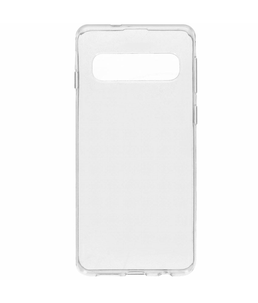 Accezz Clear Backcover Samsung Galaxy S10