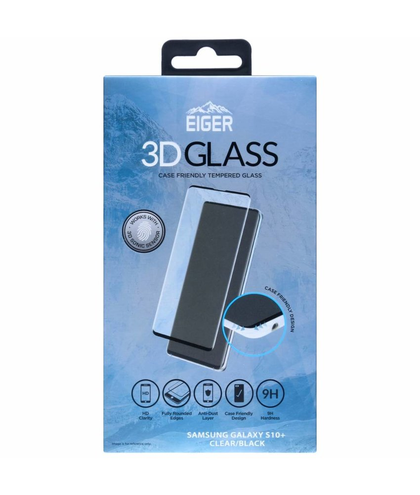 Eiger Case Friendly Glass Screenprotector Samsung Galaxy S10 Plus