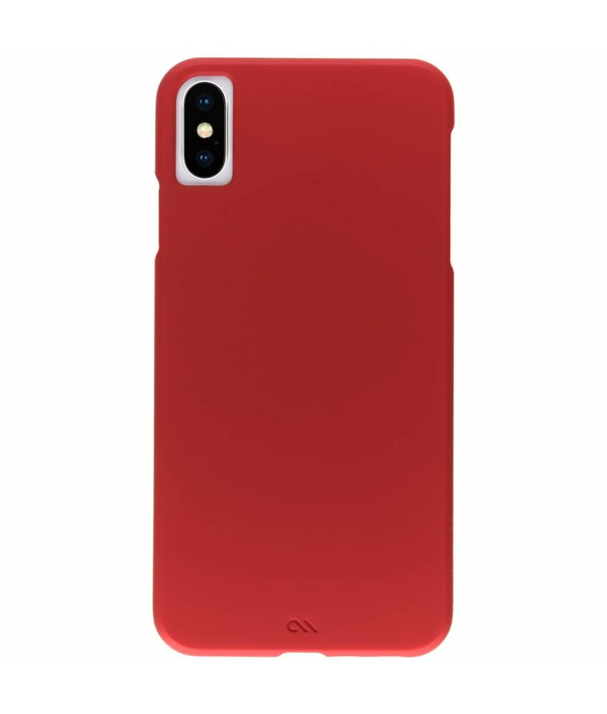 Case-Mate Rood Barely There Hardcase iPhone Xs Max
