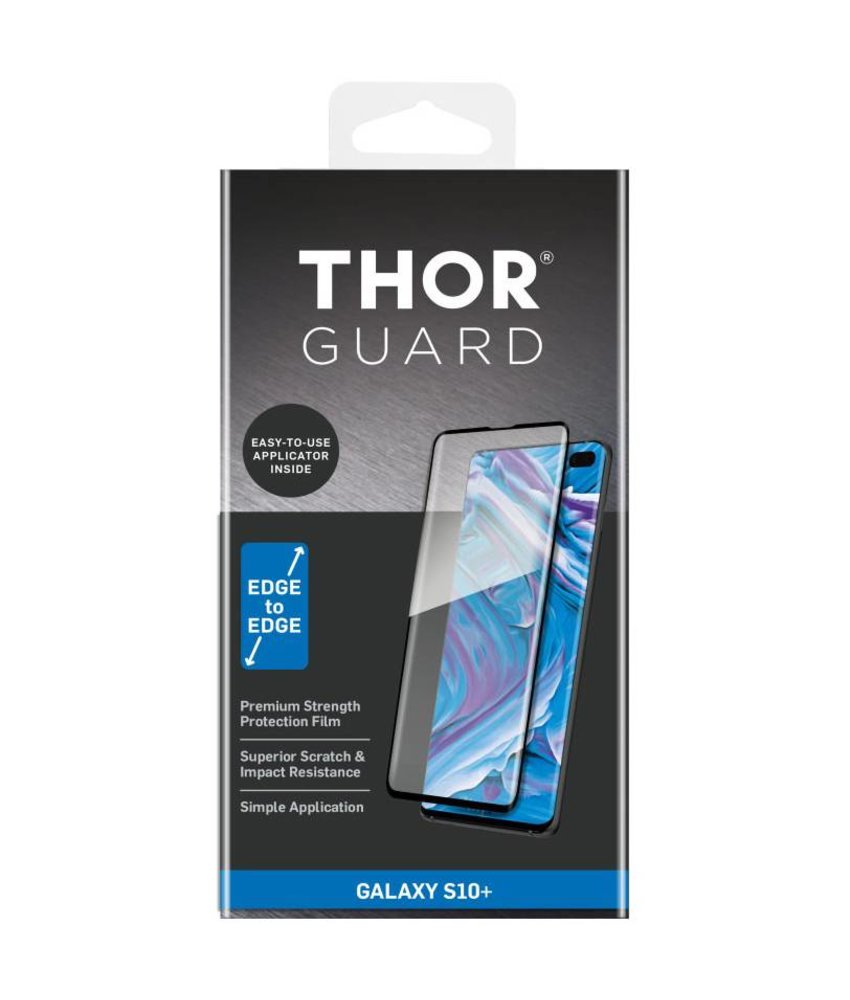 THOR Full Screenprotector + Apply Frame Samsung Galaxy S10 Plus