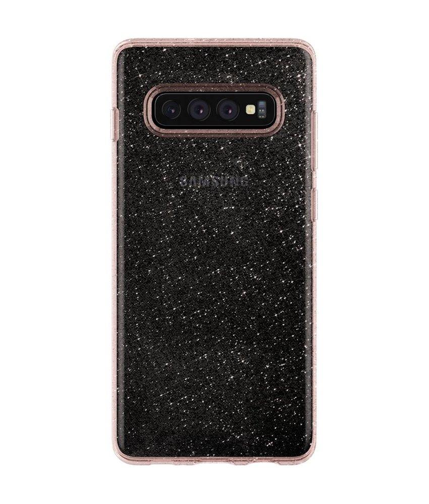 Spigen Liquid Crystal Glitter Backcover Samsung Galaxy S10