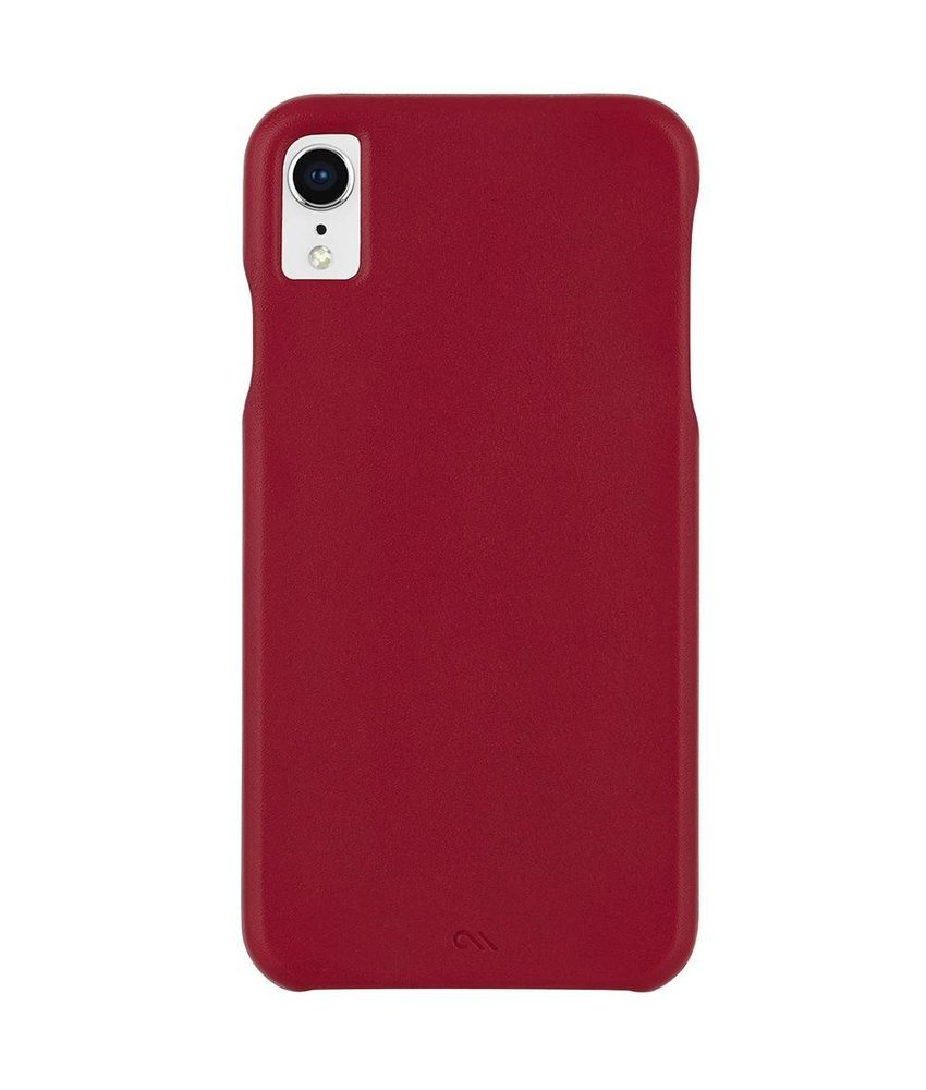 Case-Mate Barely There Leather Backcover iPhone Xr
