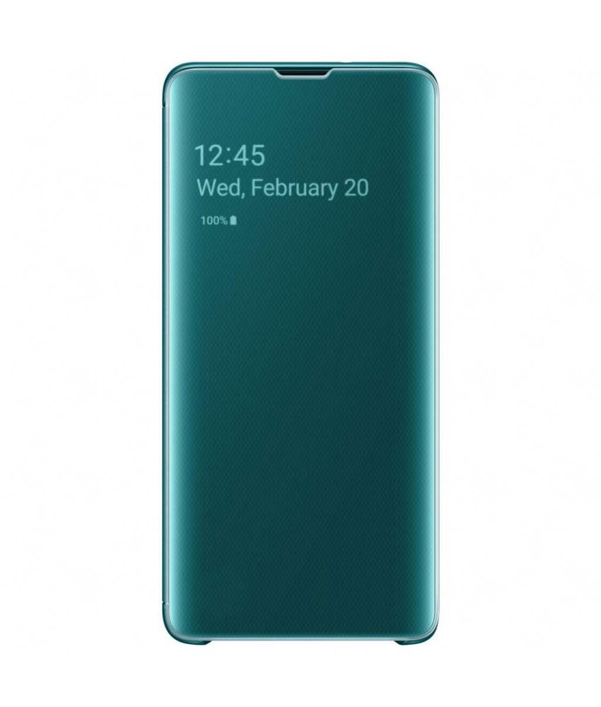 Samsung Clear View Standing Booktype Samsung Galaxy S10