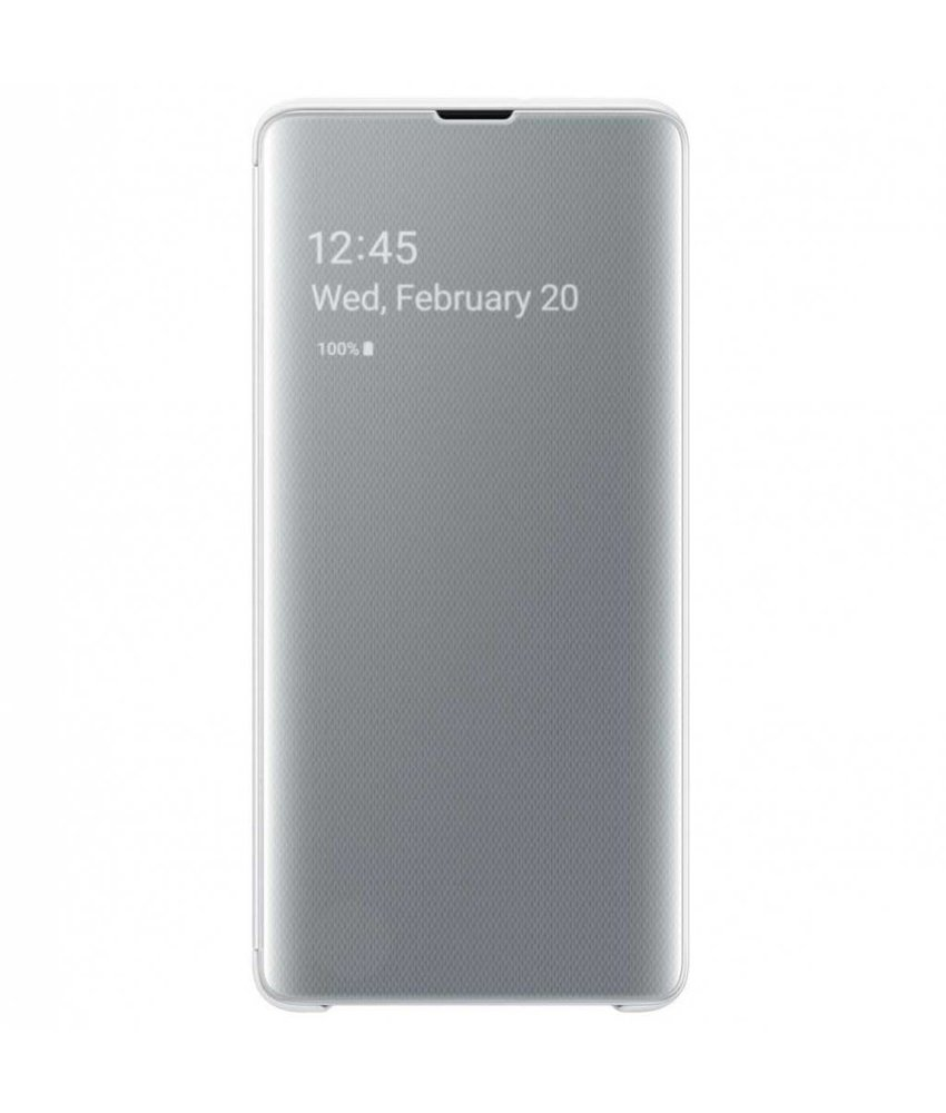 Samsung Clear View Standing Booktype Samsung Galaxy S10 Plus
