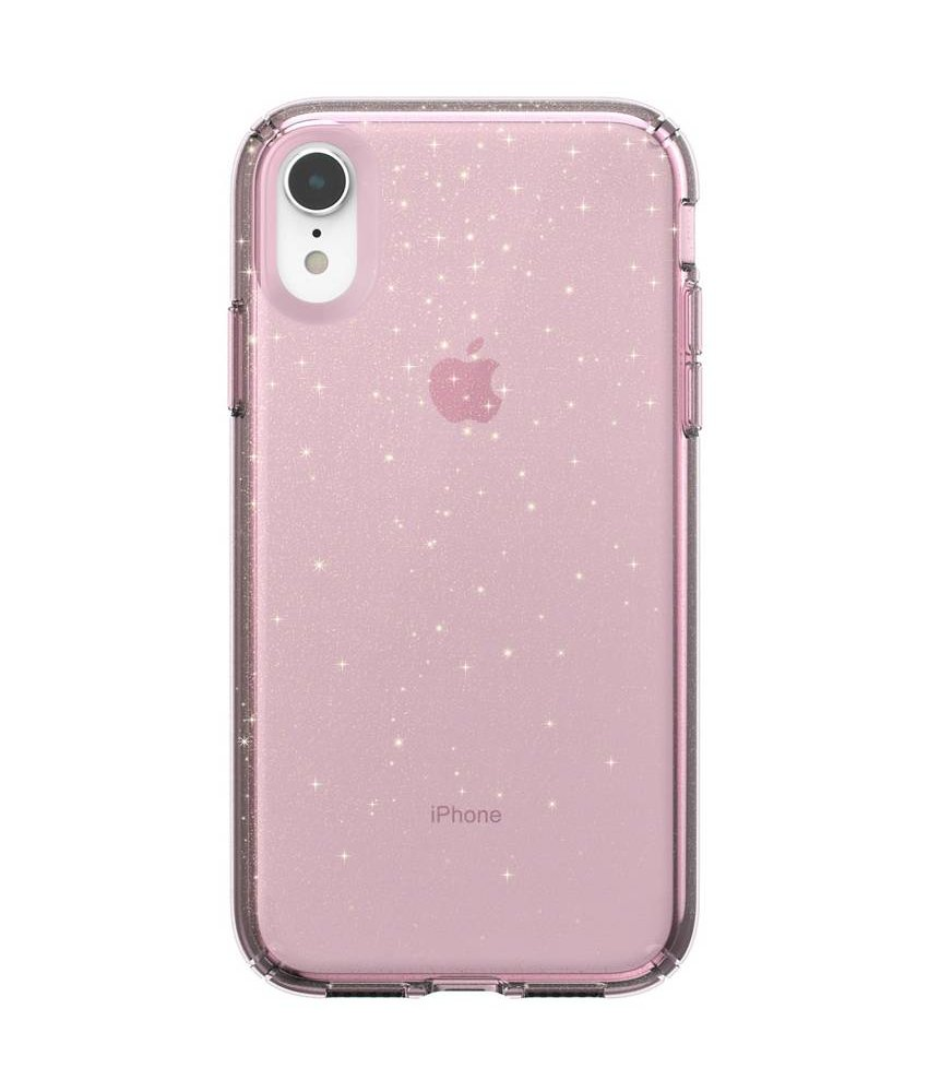 Speck Presidio Clear + Glitter Backcover iPhone Xr