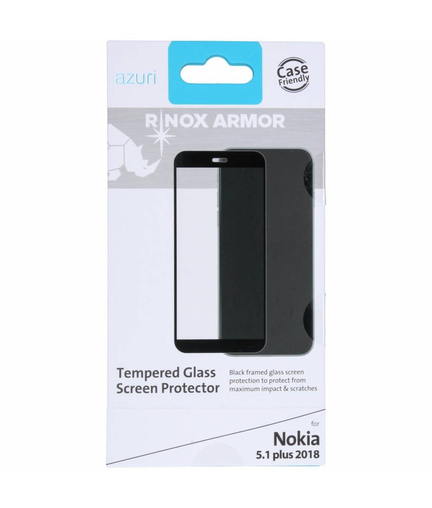 Azuri Tempered Glass Screenprotector Nokia 5.1 Plus