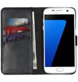 Samsung Galaxy S7 hoesje - Selencia Echt Lederen Booktype