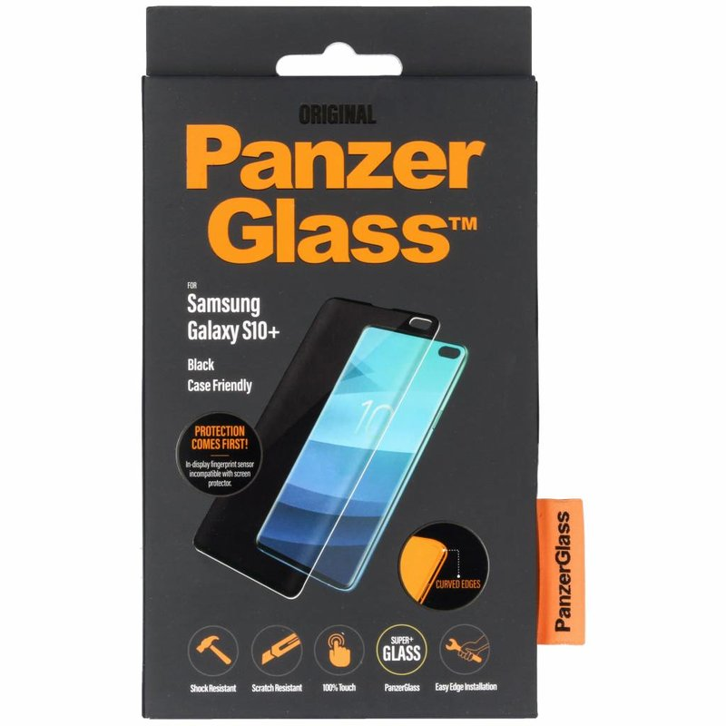 PanzerGlass Case Friendly Screenprotector Samsung Galaxy S10 Plus
