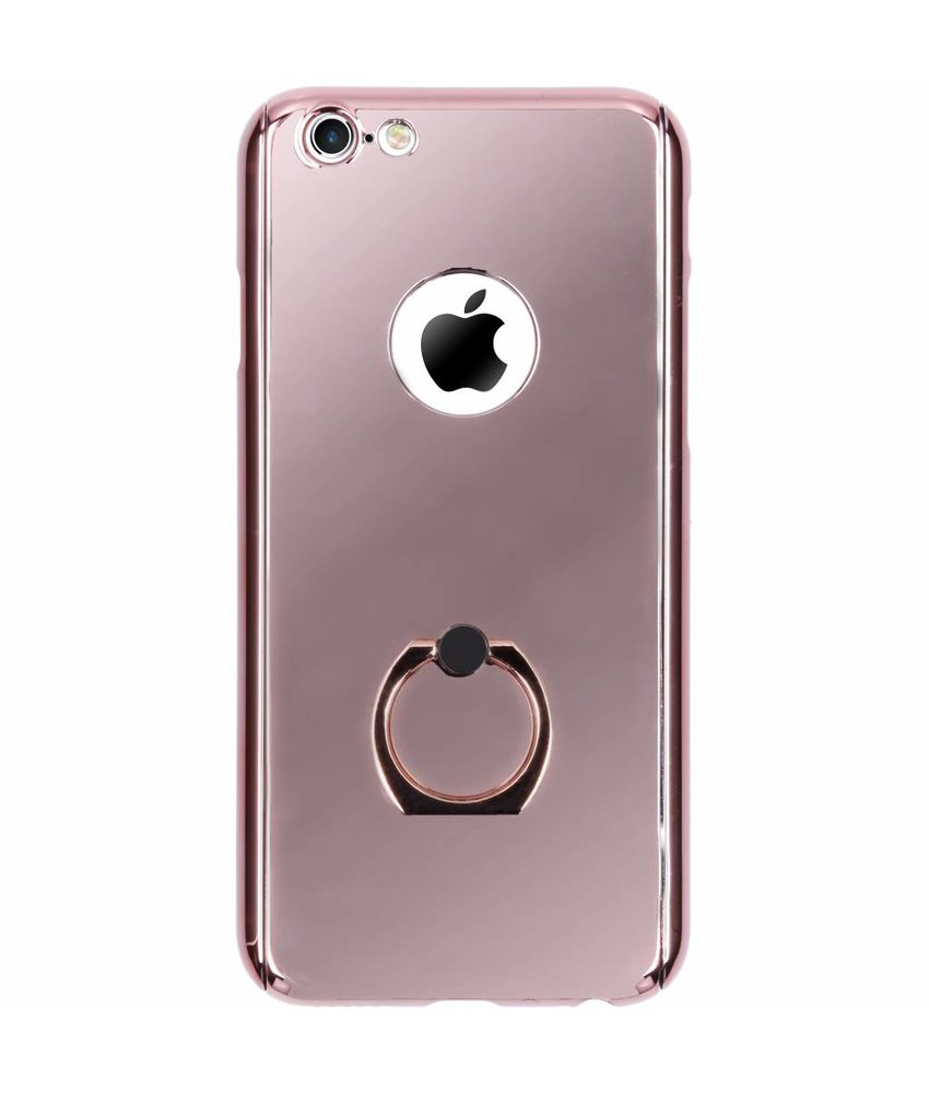 360° Effen Protect Backcover iPhone 6 / 6s - Rosé goud