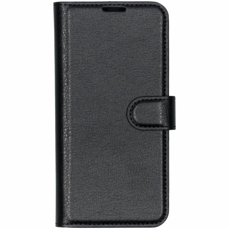 Basic Litchi Booktype Huawei P30 Lite - Zwart