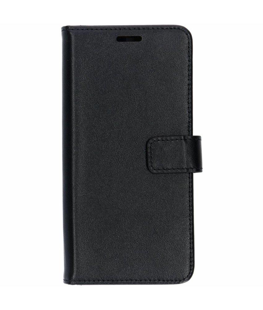 Valenta Leather Booktype Samsung Galaxy S10 - Zwart