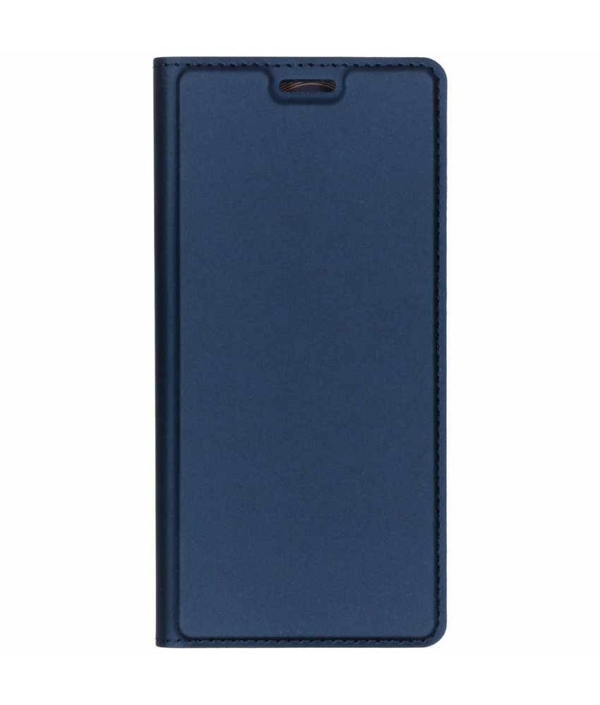 Dux Ducis Slim Softcase Booktype Sony Xperia L3 - Blauw