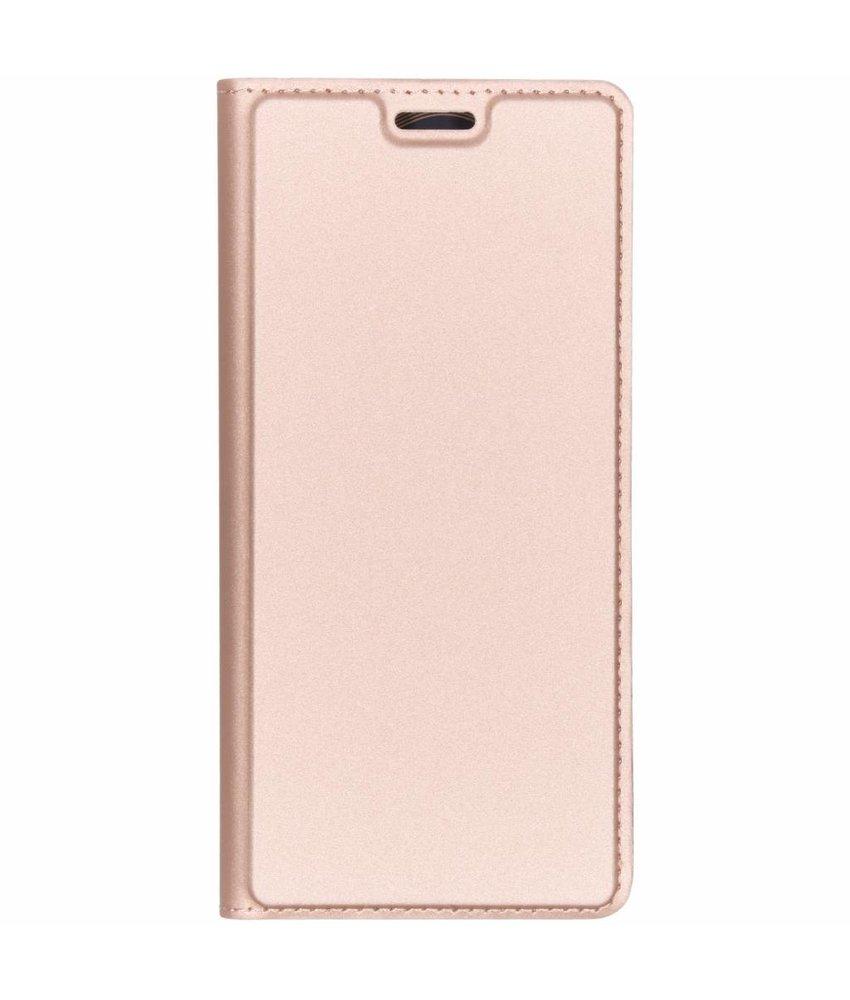 Dux Ducis Slim Softcase Booktype Sony Xperia L3 - Rosé Goud
