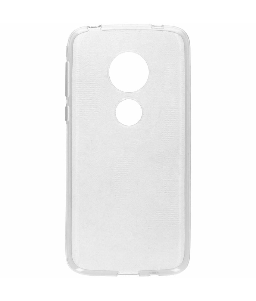 Softcase Backcover Motorola Moto G7 Play - Transparant