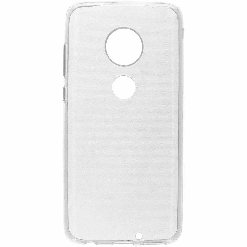 Softcase Backcover Motorola Moto G7 / G7 Plus - Transparant