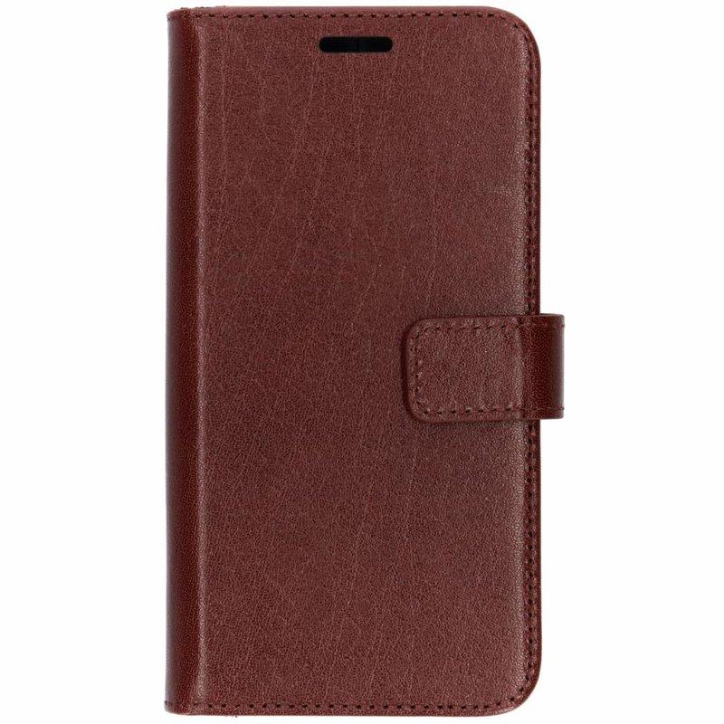 Valenta Leather Booktype Samsung Galaxy S10e - Bruin