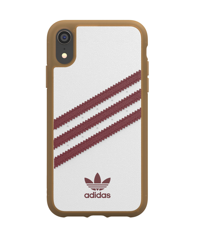 adidas Originals Samba Backcover iPhone Xr - Wit / Rood